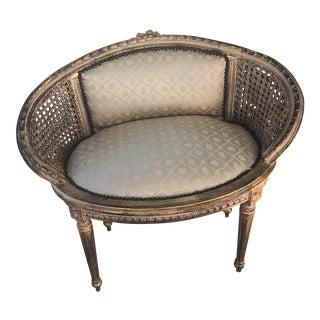 Gold Round Chair