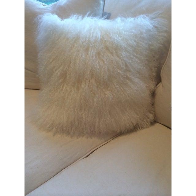 Mongolian Natural White Pillow - Image 2 of 3