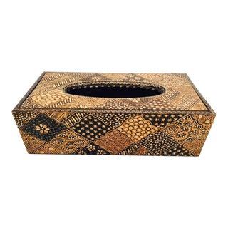Batik Pattern Tissue Box