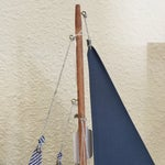 Image of Nautical Sail Boat Model -  Red & Blue