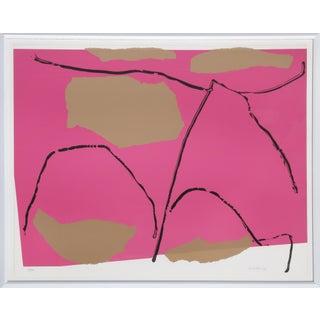 "1980 Raymond Parker ""Untitled 12"" Print"