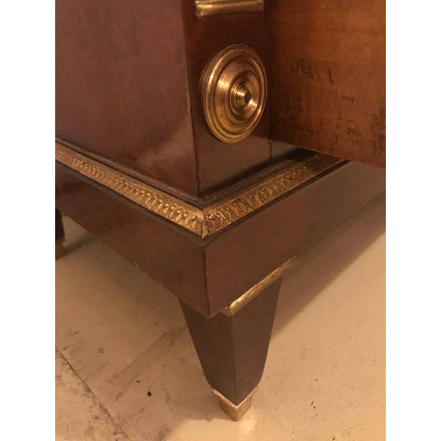 Bronze Mounted Step Up Commodes in the Russian Neoclassical Style - A Pair - Image 8 of 10