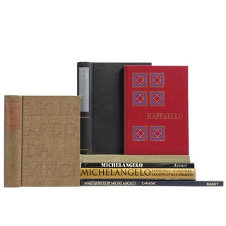 The Renaissance of Italian Painting Books - Set of 7
