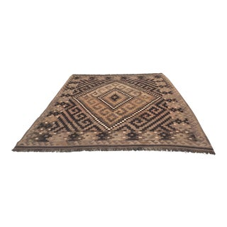 Vintage Turkish Kilim Rug- 8′3″ × 9′7″