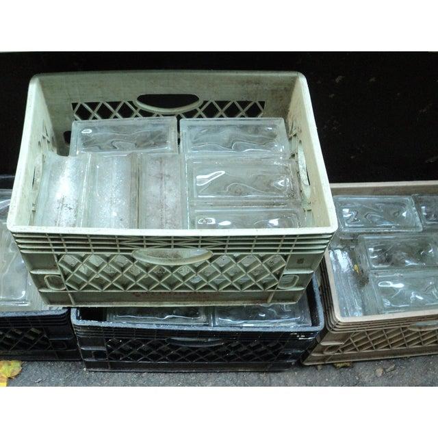 Image of Vintage Glass Block Bricks - Pair