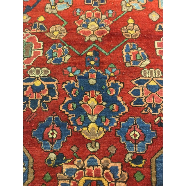 Vintage Persian Bactiari Rug - 6′9″ × 10′2″ - Image 7 of 11