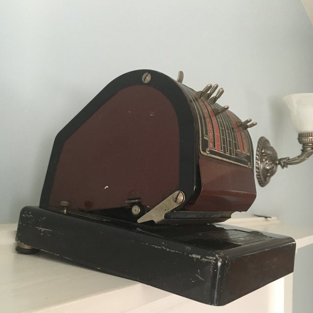 1930s Antique Paymaster Office Check Writer - Image 5 of 11