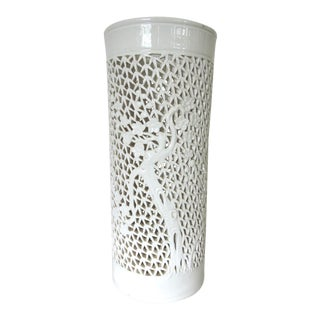 Blanc de Chine Lamp Base or Candle Holder