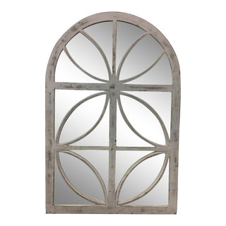 White Framed Decorative Mirror