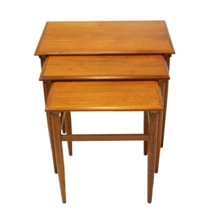 Danish Teak Aya Nesting Tables- Set of 3