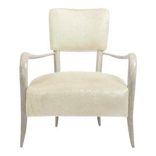 Bernhardt Elka Chair in Faux Horn