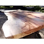 Image of Live Edge Industrial Dining Table