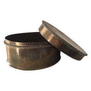 Brass Trinket Box