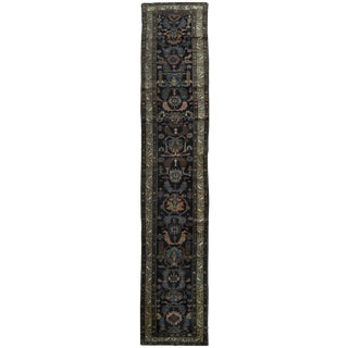 Surena Rugs Antique Handmade Persian Malayer Runner Rug - 2′7″ × 16′2""