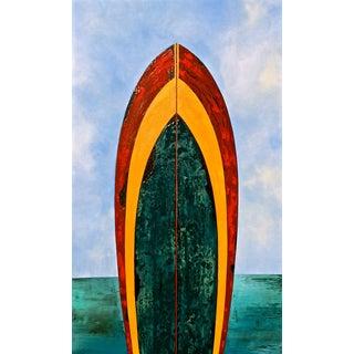 Acrylic & Mixed Media Original Surf Painting