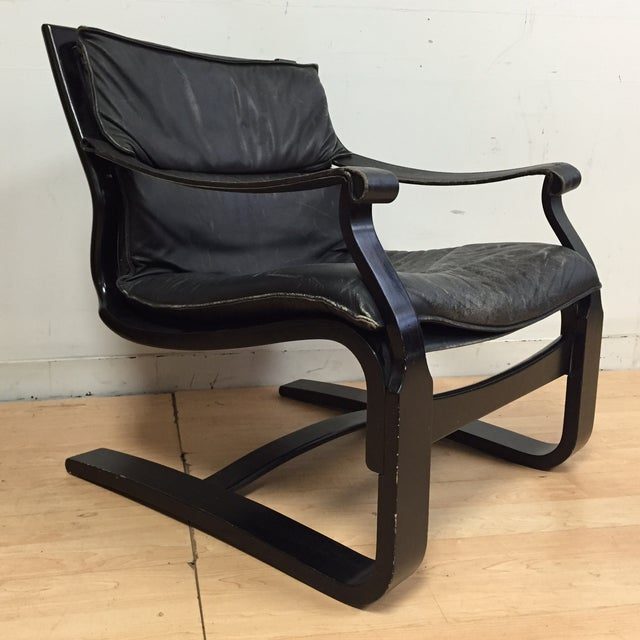 Nelo Leather Lounge Chair - Image 2 of 10