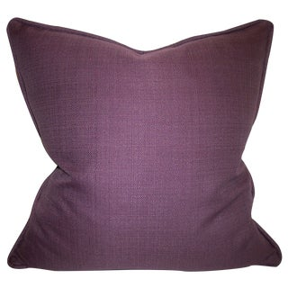 Upscale Eggplant Accent Pillow
