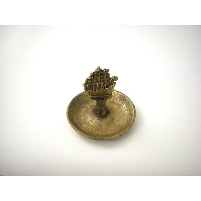 Brass Ship Dish - Image 6 of 9