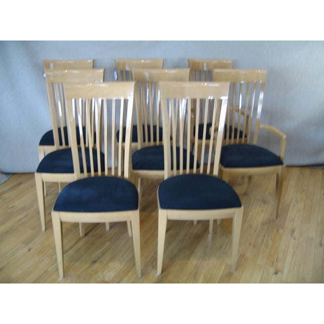 Contemporary Italian Dining Set With 8 Chairs - Image 4 of 4
