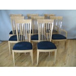 Image of Contemporary Italian Dining Set With 8 Chairs