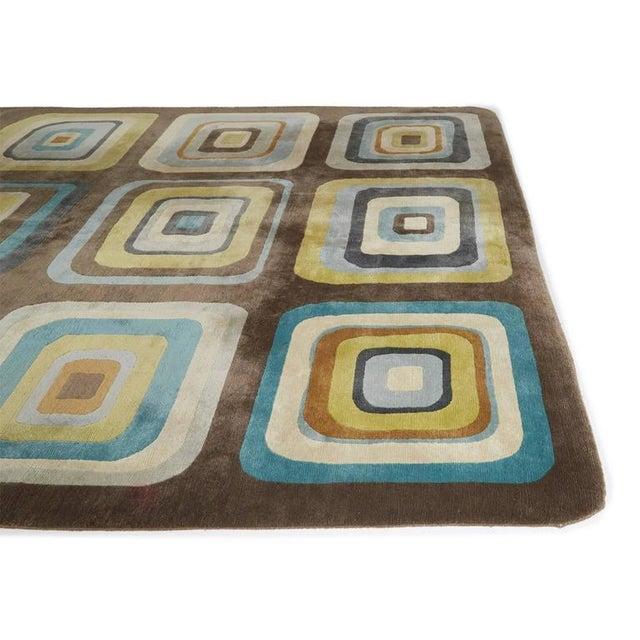 """Angela Adams Geometric Custom Wool Area Rug - 10' x 13'2"""" - Image 6 of 7"""