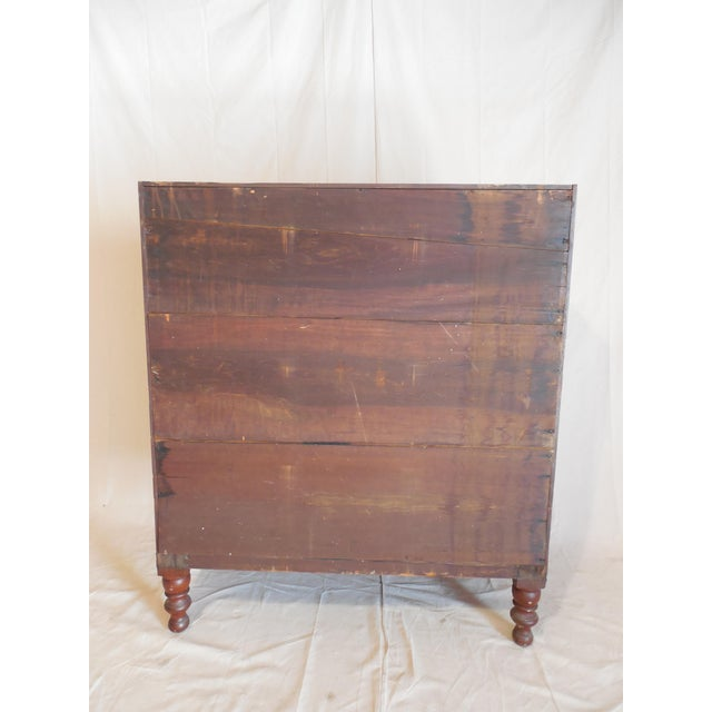 Signed Pennsylvania 1836 Cherry Slant Front Desk - Image 10 of 11