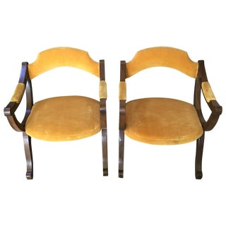 Lewittes & Sons Mid Century Modern Chairs - Pair