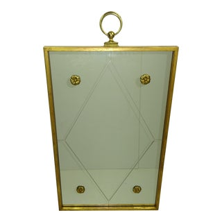 Palladio Gilt Wood Mirror
