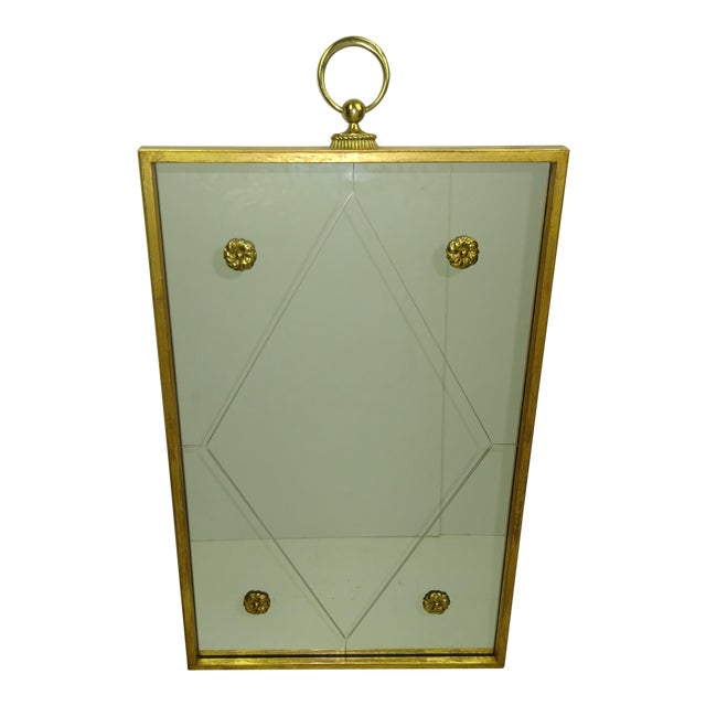 Image of Palladio Gilt Wood Mirror