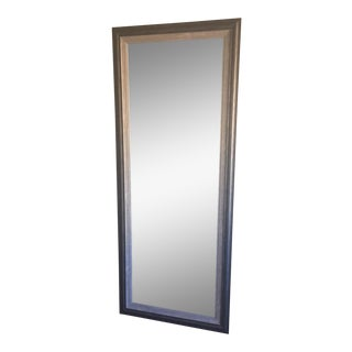 Contemporary Gray Floor Mirror