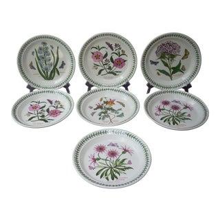 Portmeirion Floral Salad Plates - Set of 7