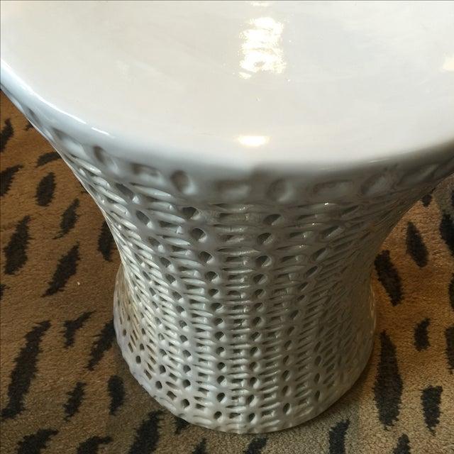 Ceramic Garden Stool - Image 6 of 7