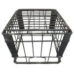 Image of Industrial Square Metal Crate