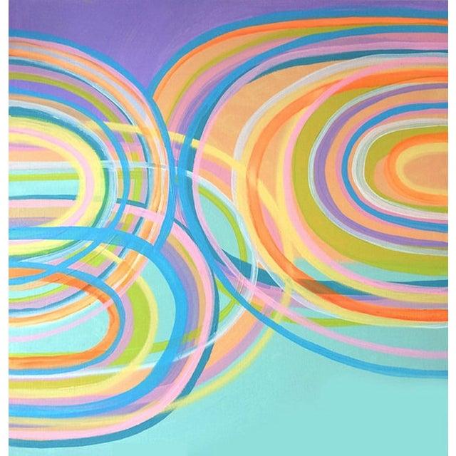 Image of 'KiKi' Original Abstract Painting