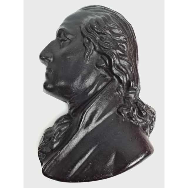 Presidents Cast Iron Wall Decor - A Pair - Image 4 of 6