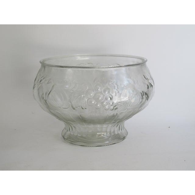 Italian Glass Harvest Punch Bowl - Image 4 of 5