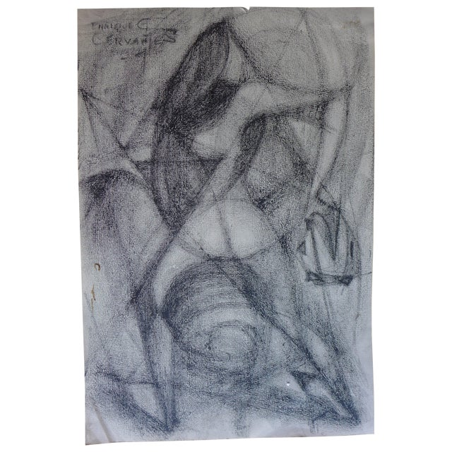 Mexican Abstract (The Figure) Drawing - Image 1 of 4