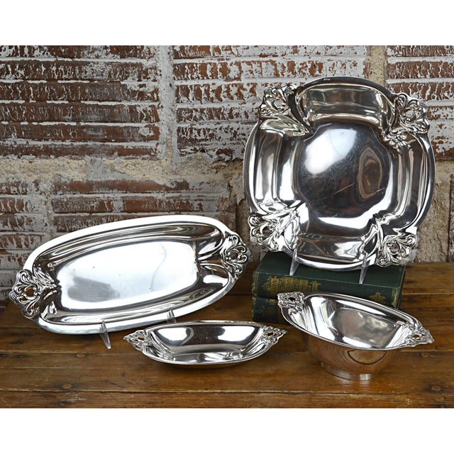 International Silver Royal Danish Sterling Vegetable Bowl - Image 9 of 9