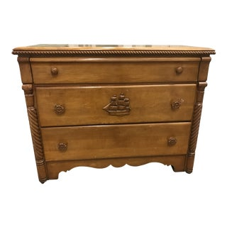 1930s Americana Maple Chest