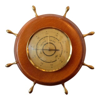 Vintage Förster Nautical German Barometer