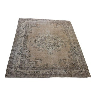 Turkish Anatolian Hand Made Over-Dyed Rug- 5' x 6'7""