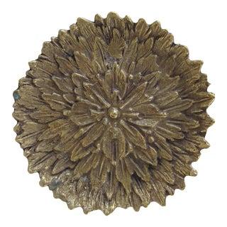 Brass Flower Catchall