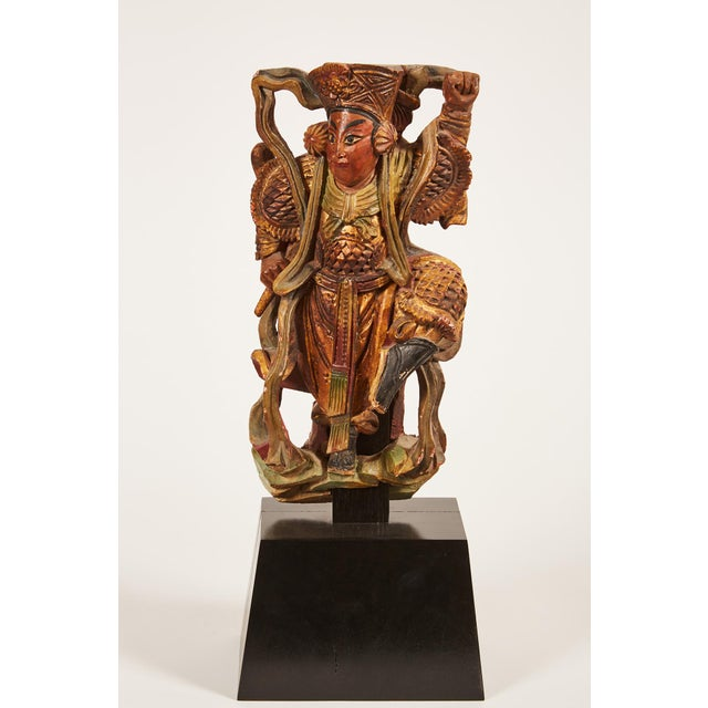 Pair of 20th Century Taiwanese Deity with Stand - Image 7 of 9