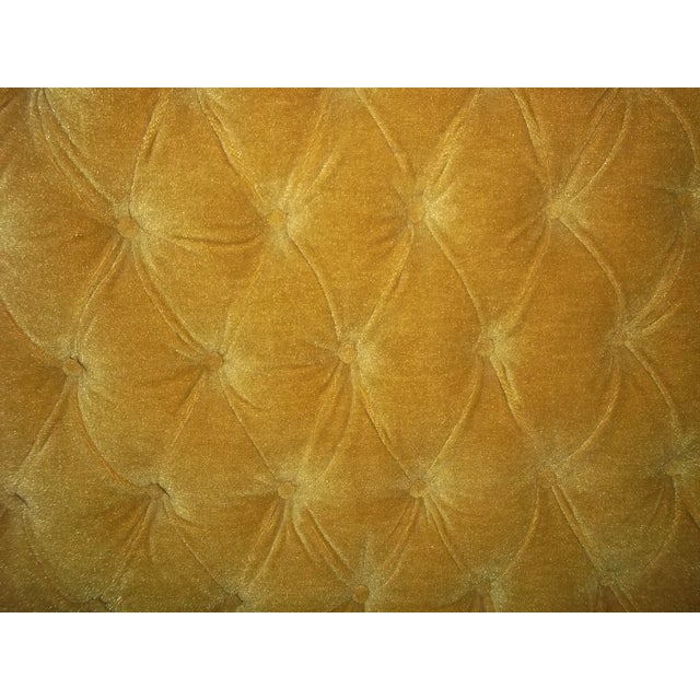 Vintage 1960s King Size Tufted Headboard - Image 4 of 7
