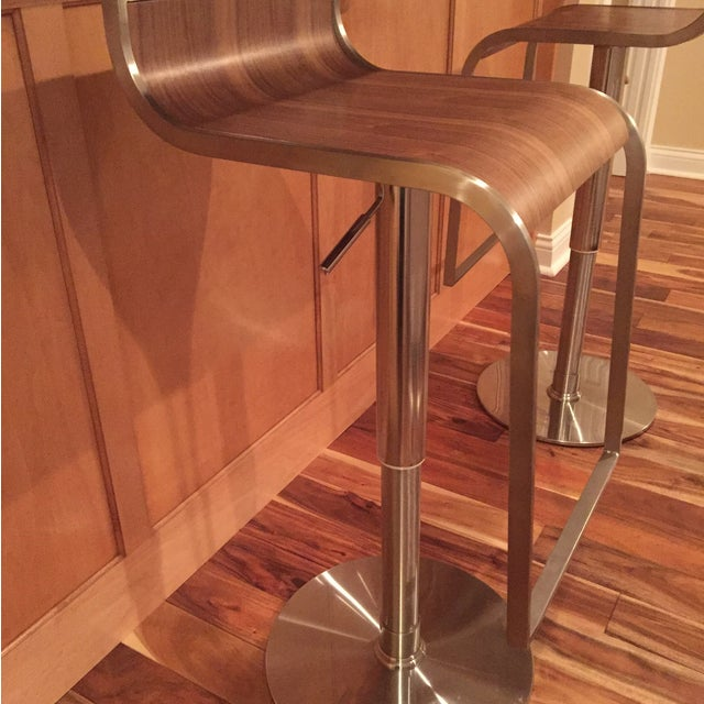 Contempoary Eurostyle Bar/Counter Stools - 2 - Image 5 of 9