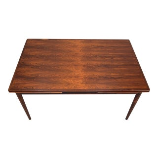 Hornslet Danish Palisander/Rosewood Extension Dining Table