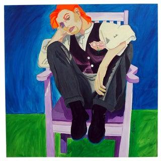 "Adria Becker ""Ginger"" Oil Painting"