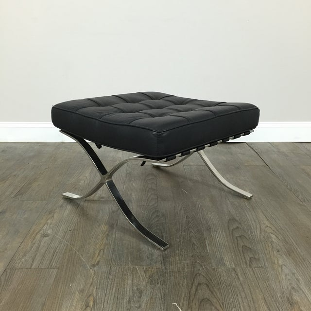 Barcelona Chairs & Ottoman - Set of 3 - Image 10 of 11