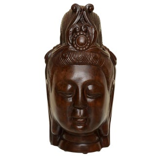 Art Deco Resin Buddha Head