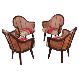 Set of Four Armchairs Designed by Harvey Probber